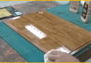 [Video] Bring Out The Elegance Within Your Wood Tables By Giving It A Glass-Like Finish.