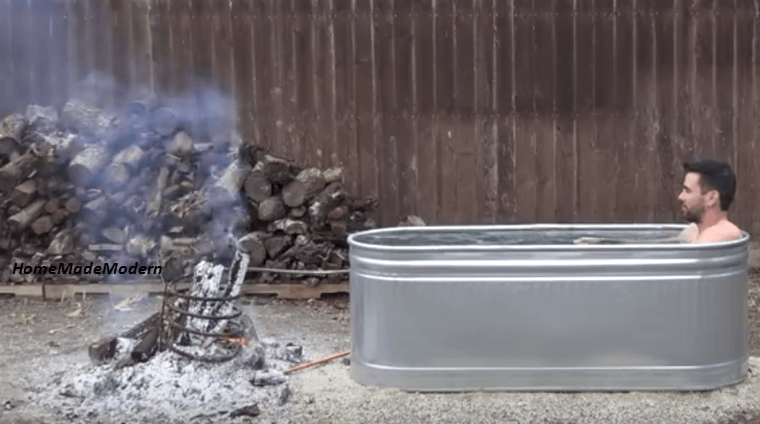 Video Install Your Own Diy Wood Fired Outdoor Hot Tub In