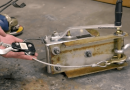 [Video] This Genius DIY Project That Turned A Simple Hand-Cranked Winch Into A Power Tow Tool.
