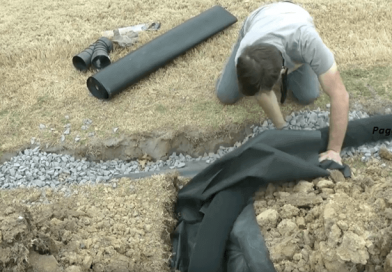 DIY: Building A 200 Ft French Drain: A 15-Minute Instruction.