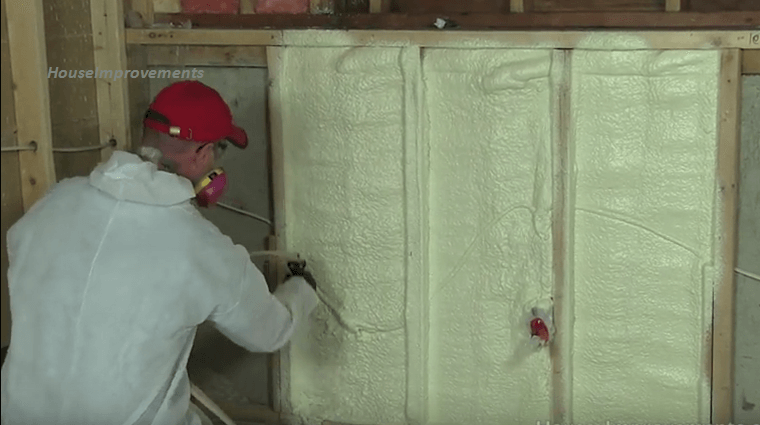 How to install spray foam insulation diy archives brilliant diy step by step learning the safe way to do spray foam insulation all by yourself solutioingenieria Images