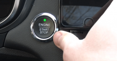 [Video] What Happens When You Push The Start Button While Driving?