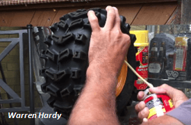 Tutorial say goodbye to flat tires by filling them with foam image source warren hardy solutioingenieria Images