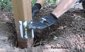 Tutorial How To Install A Fence Post Without Using