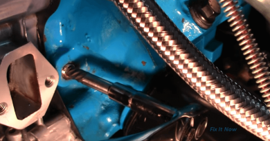 Simple Trick: How To Use A Screw Extractor To Remove Stuck Bolts From Engine.