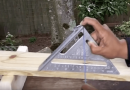 Step-By-Step Instructions: This Nifty Trick Allows Your Speed Square To Double As A Level.