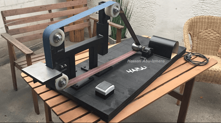 Step-By-Step Tutorial: How To Create Your Own Belt Grinder.