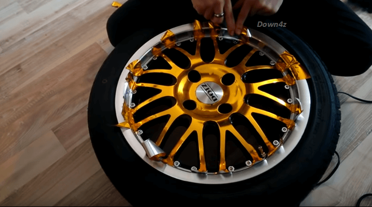 Instant Car Makeover: DIY Vinyl-Wrapping Your Car Rims!