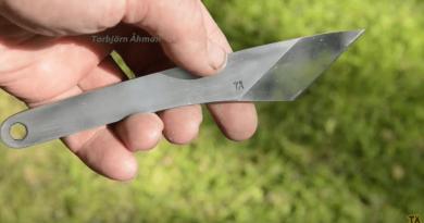 kiridashi style knife