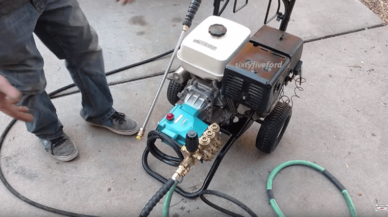 Learn How To Make Your Own Pressure Washer Using Random