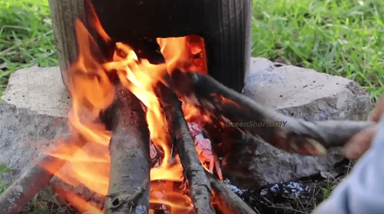Learn How To Make Your Own Rocket Stove Using Concrete.