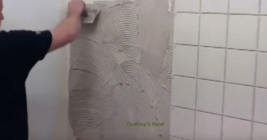 Learn The Proper And Easy Way Of Tiling A Wall.