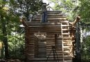 How To Build Your Own Log Cabin In The Woods.