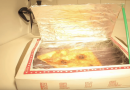 How To Make A Solar Oven Using A Pizza Box.
