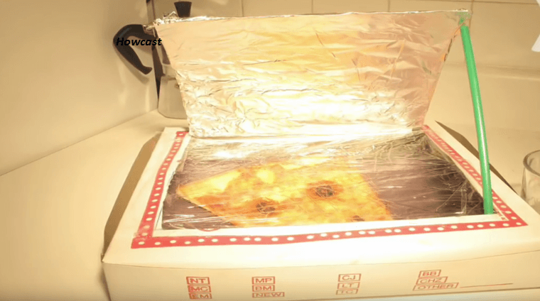 how to make a solar oven using a pizza box brilliant diy. Black Bedroom Furniture Sets. Home Design Ideas