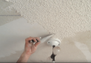 The Easy DIY Way Of Removing Stipple Or Popcorn Ceiling.