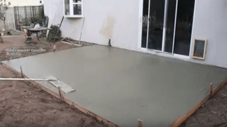 Diy Instructions For Pouring Concrete Slab In A Day