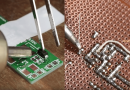 Learn Two Ways To Properly Solder Components On A PCB.