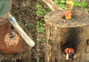 How To Make Your Own Wooden Rocket Stove.