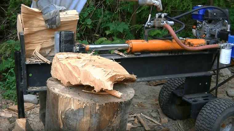 Cut The Wood, Not Your Budget With A Homemade Firewood Splitter.