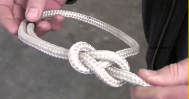 The Bowline Knot's Close Cousin That Looks And Works Exactly The Same Like It.