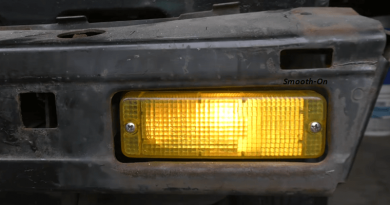 How To Create A Replacement Tail Light Lens, DIY Style.