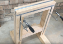 Make Your Own Multifunctional Sawhorse Using Scrap Wood And Aluminum Square Bars.