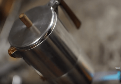 DIY – An Amazing Project for Machinists: DIY Aluminum Stovetop Espresso Pot.