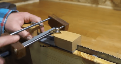 A Practical Guide On How To Make DIY Filer Guide For Handsaws.