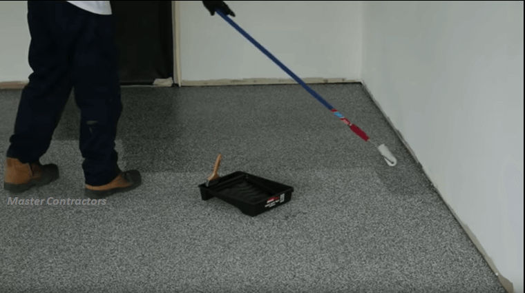 Turn That Drab Flooring Using This Flake Method.