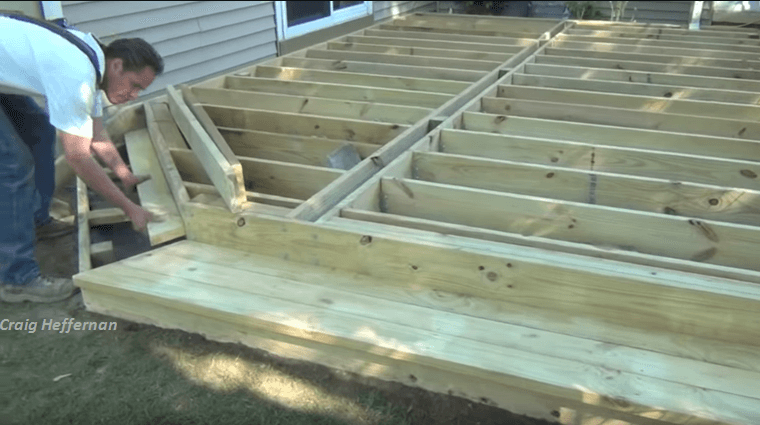 Building A Ground Level Deck? Here's How.